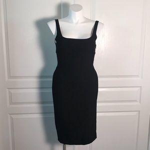 DIANE VON FURSTENBERG LITTLE BLACK TANK DRESS
